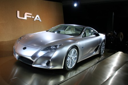 Lexus LFA Photos